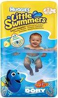 Huggies Little Swimmers 2/3 - Бански гащички за еднократна употреба за бебета с тегло от 3 до 8 kg -