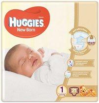Huggies New Born 1 - Пелени за еднократна употреба за бебета с тегло до 5 kg -