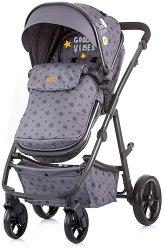 Комбинирана бебешка количка - Milo 2020 - С 4 колела -