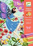 Оцветявай с брокат - Животът на феите - Творчески комплект за рисуване - творчески комплект