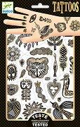 Временни татуировки - Golden Chic - Комплект от 2 листа