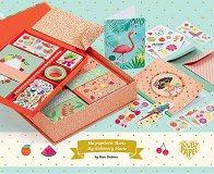 Декорирай сама - Картички, тефтери, тетрадка и пликове - Творчески комплект за апликиране - творчески комплект