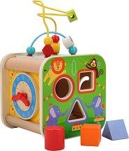Дидактически куб - Цирк - играчка
