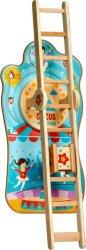 Акробатика в цирка - Детска интерактивна дървена играчка -