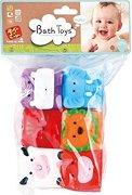 Меки кубчета - Животни - Комплект от 6 броя - играчка