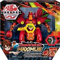 Bakugan Battle Planet: Ultra Ball - Dragonoid Maximus - Бойно топче и фигурка за игра -