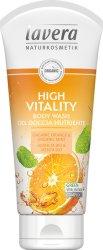Lavera High Vitality Body Wash - Ревитализираш душ гел с био портокал и мента - душ гел