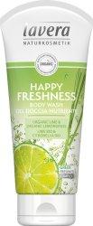 Lavera Happy Freshness Body Wash - Освежаващ душ гел с лимон и лимонова трева -