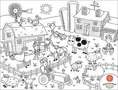 Силиконова подложка - Ферма -