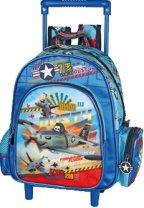 Раница за детска градина с колелца - Самолети -