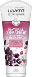 Lavera Natural Superfruit Body Wash - Душ гел с акай бери и годжи бери - маска