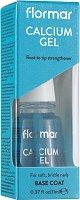 Flormar Calcium Gel Base Coat - Заздравяваща база за нокти с калций -