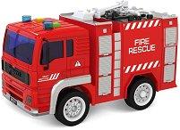 """Пожарникарски камион - Детска играчка със светлинни и зукови ефекти от серията """"City Service"""" -"""