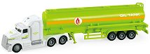 """Камион с цистерна - Детска играчка със светлинни и зукови ефекти от серията """"City Service"""" -"""