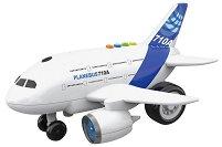 """Самолет - Детска играчка със светлинни и зукови ефекти от серията """"City Service"""" -"""