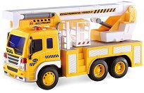 """Строителен камион - Детска играчка със светлинни и зукови ефекти от серията """"City Service"""" -"""