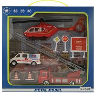 """Спасителен отряд - Детски комплект за игра с аксесоари от серията """"City Simulator"""" -"""