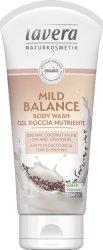 Lavera Mild Balance Body Wash - Душ гел с био кокосово мляко и чия - шампоан