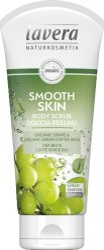 Lavera Smooth Skin Body Scrub - Пилинг за тяло с био грозде и зелено кафе - масло