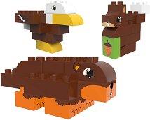 Детски конструктор - Животни в гората - играчка