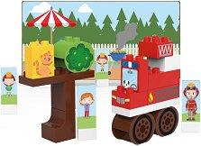Детски конструктор - Пожарникарски камион -