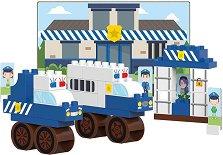 Детски конструктор - Полицейска станция -