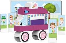Детски конструктор - Камион за сладолед -