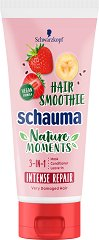 Schauma Nature Moments Hair Smoothie Intense Repair 3 in 1 - Подхранваща маска за много увредена коса - масло
