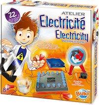 """Електрическа работилница - Образователен комплект от серията """"Научни експерименти"""" - играчка"""