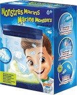 """Морски чудовища - Образователен комплект от серията """"Природа"""" - образователен комплект"""