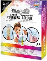 """Направи сам - Цветна химия - Детски образователен комплект от серията """"Mini Lab"""" -"""