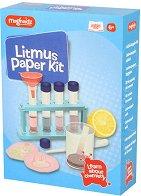 """Експерименти с лакмусова хартия - Образователен комплект от серията """"Magnoidz"""" - играчка"""