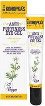 Dr. Konopka's Anti Puffiness Eye Gel - Околоочен гел против подпухване на кожата - сапун