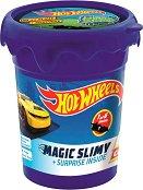 Магически слайм - Количка - Цветна слуз за игра с фигурка изненада - топка