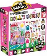 Куклена къща - Комплект пъзели + плакат -