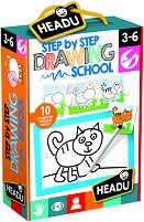 Първи стъпки в рисуването - Детски образователен комплект - играчка