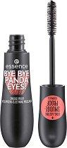 Essence Bye Bye Panda Eyes Smudge-Proof Volumizing & Defining Mascara - Дълготрайна спирала за обем и подчертаване на миглите - очна линия