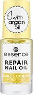 Essence Repair Nail Oil - Масло за нокти и кожички с арган - лак