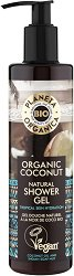 Planeta Organica Natural Shower Gel Organic Coconut - крем