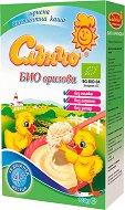 Слънчо - Инстантна био безмлечна каша с ориз - Опаковка от 180 g за бебета над 4 месеца - продукт