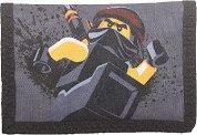 """Детско портмоне - LEGO Ninjago Cole - Детски аксесоар от серията """"LEGO: Ninjago"""" -"""