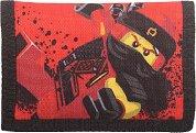 """Детско портмоне - LEGO Ninjago Kai - Детски аксесоар от серията """"LEGO"""" - раница"""
