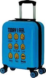 Детски куфар с колелца - LEGO: Minifigures -