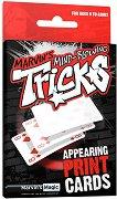 """Появяващи се карти - Комплект за фокуси с карти от серията """"Tricks"""" -"""
