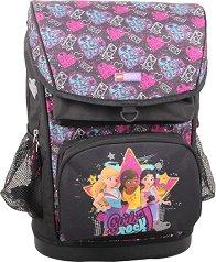 """Ученическа раница - LEGO Friends: Girls Rock - Комплект със спортна чанта от серията """"LEGO: Friends"""" -"""