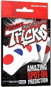 """Чудесни предсказание - Комплект за фокуси с карти от серията """"Tricks"""" -"""