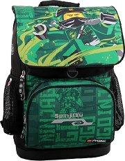 """Ученическа раница - LEGO Ninjago: Energy High - Комплект със спортна торба от серията """"LEGO: Ninjago"""" -"""