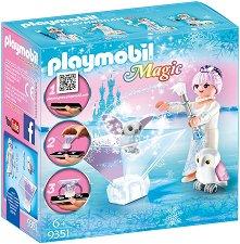 """Принцеса Ледено цвете - Детски конструктор от серията """"Magic"""" -"""