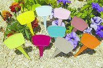 Цветни табелки за надписване на растения - Label 15 Color - Комплект от 16 броя