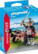 """Рицар с оръдие - Детски конструктор от серията """"Special: Plus"""" -"""
